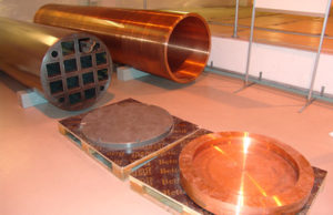 Copper cannister