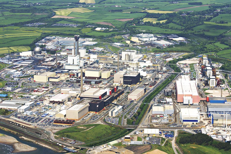 Sellafield Aerial